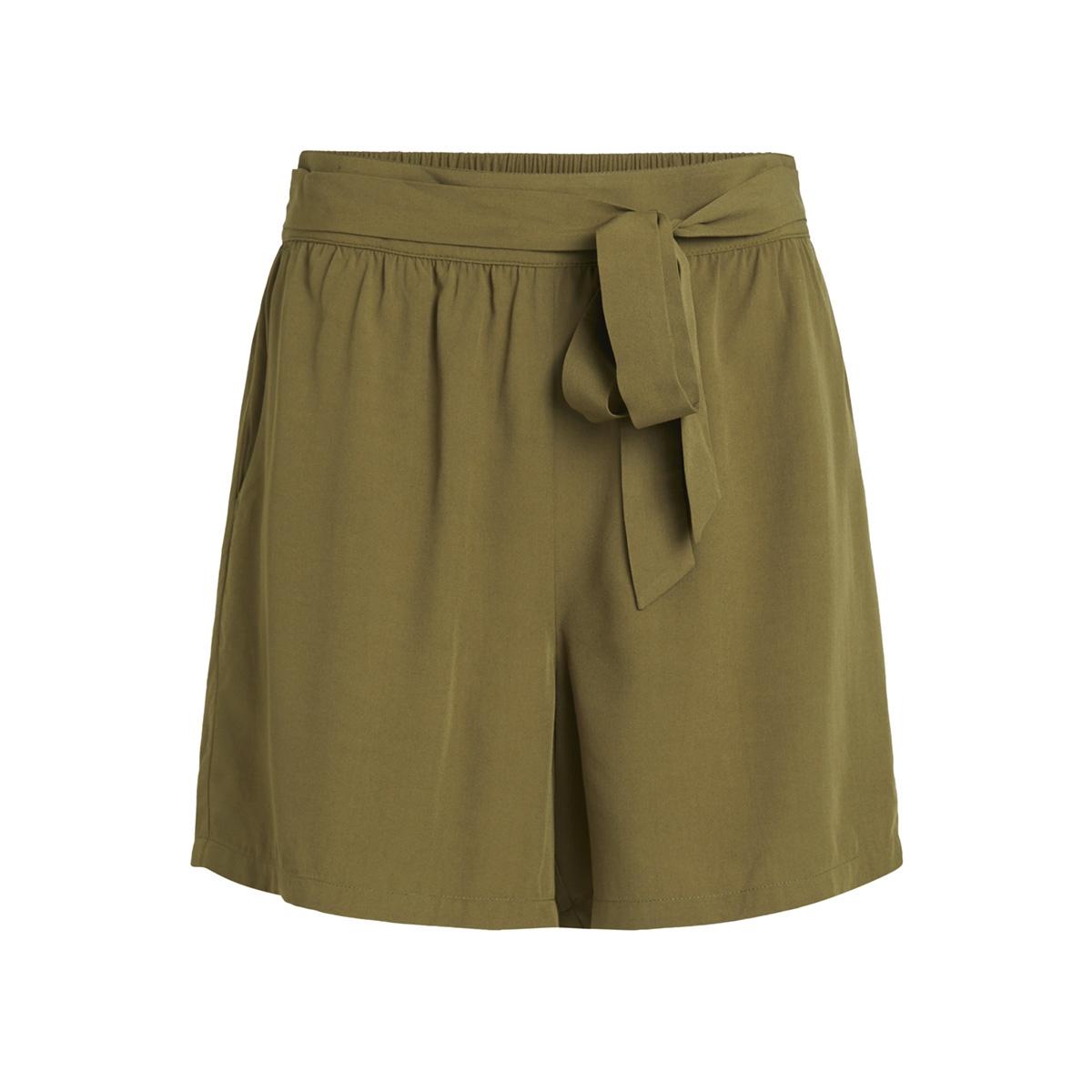 viamona shorts 14051689 vila korte broek dark olive