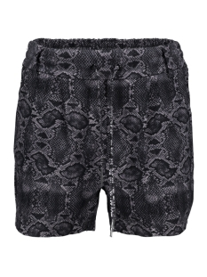 Only Korte broek ONLPOPTRASH EASY AOP  SHORTS PNT 15177264 Black/LEO DARK