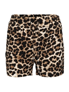 Only Korte broek ONLPOPTRASH EASY AOP  SHORTS PNT 15177264 Black/LEO LIGHT