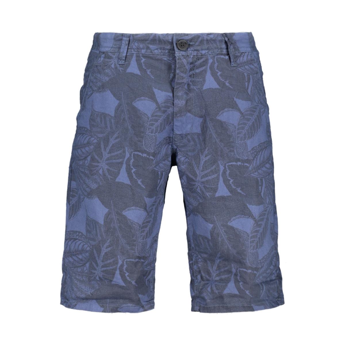 santo short met allover print e91375 garcia korte broek 3263 airforce blue