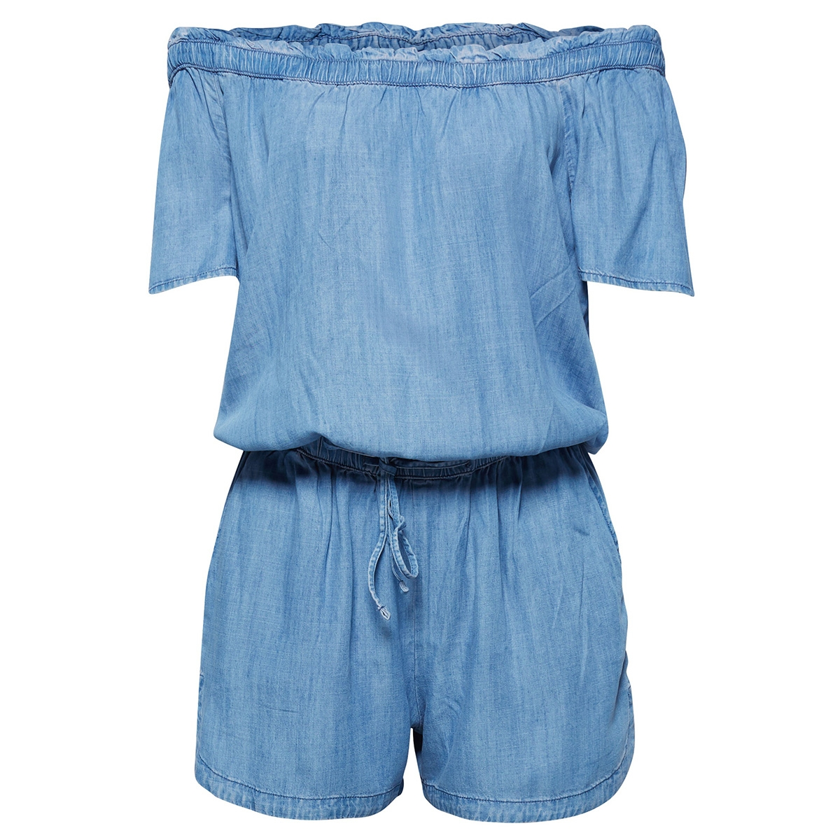 jumpsuit in denimlook 059cc1l001 edc jumpsuit c903
