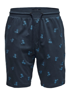 Only & Sons Korte broek onsSANTIAGO AOE SWEAT SHORTS 22013352 Dress Blues