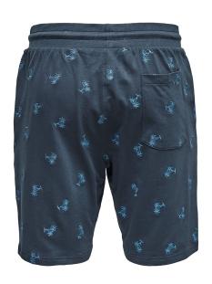 onssantiago aoe sweat shorts 22013352 only & sons korte broek dress blues