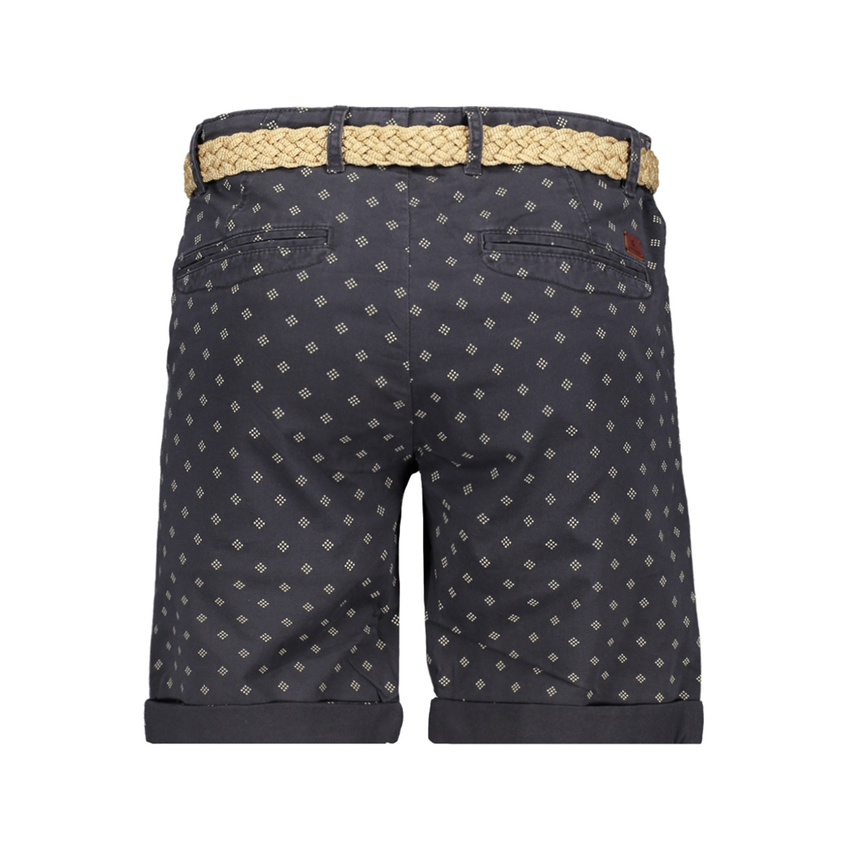 jjilorenzo shorts mid akm 648 (prin 12150741 jack & jones korte broek dark navy
