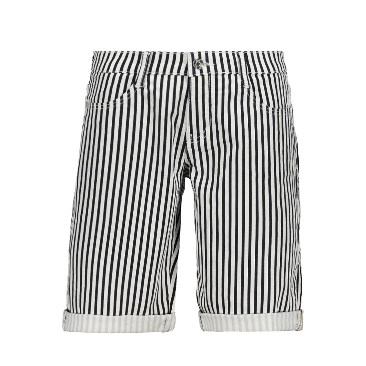 shorty dark blue strip summer clean 2387 00 0371 mac korte broek 198s