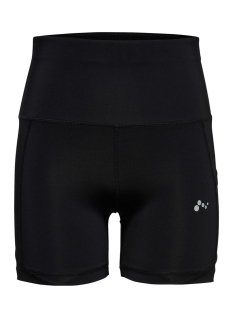 Only Play Sport broek ONPMADGE HW SHAPE UP TRAINING SHORT 15170182 Black