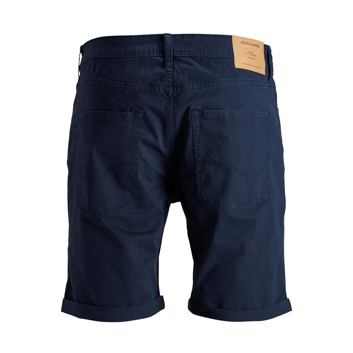 jjirick jjoriginal shorts ww 01 12146165 jack & jones korte broek black iris