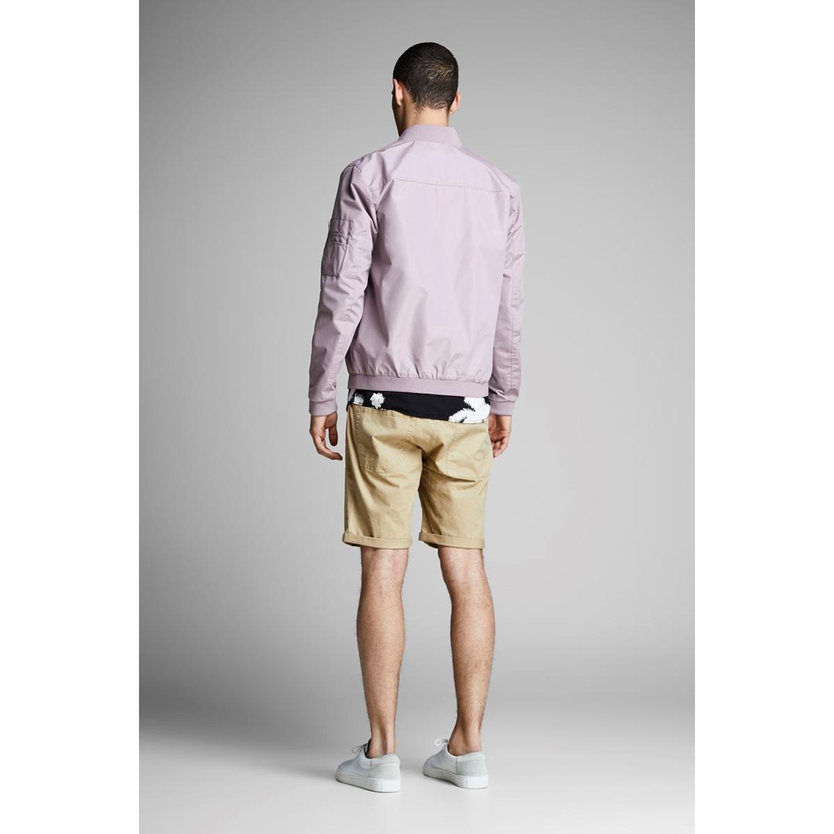 jjirick jjoriginal shorts ww 01 12146165 jack & jones korte broek white pepper