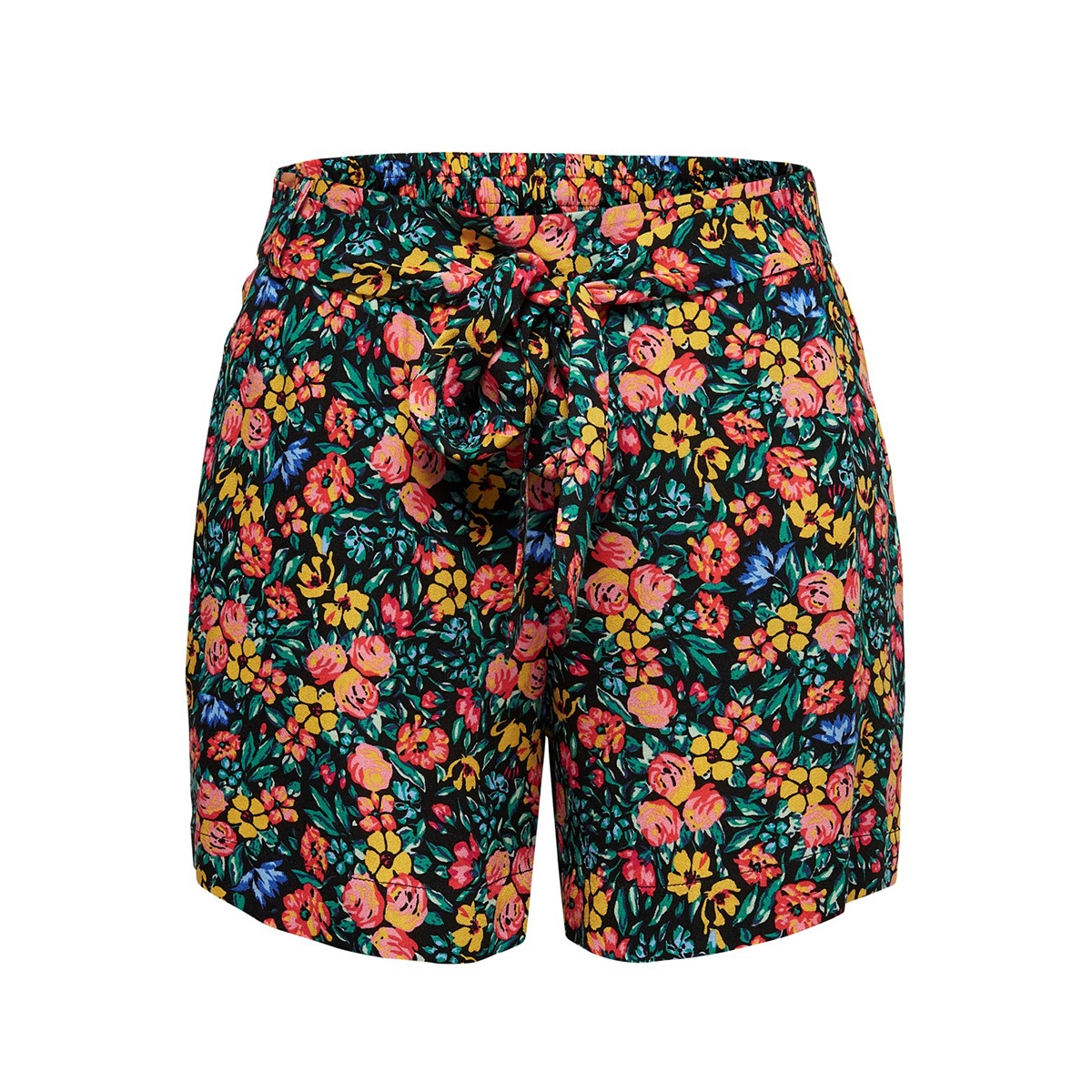jdykenya shorts wvn 15174486 jacqueline de yong korte broek black/multicolor