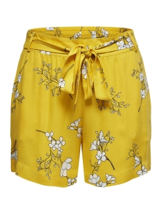 Jacqueline de Yong Korte broek JDYKENYA SHORTS WVN 15174486 Lemon/CLOUD DANCER