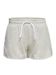 Only Play Sport short ONPLACE YOGA SWEAT SHORTS 15170177 White Melange/W. WHITE