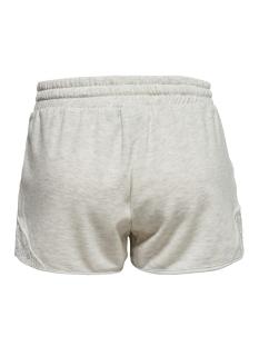 onplace yoga sweat shorts 15170177 only play sport short white melange/w. white