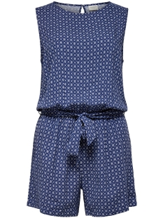 Jacqueline de Yong Jumpsuit JDYSTAR S/L PLAYSUIT WVN FS 15171500 Blue Depths/CLOUD DANCER