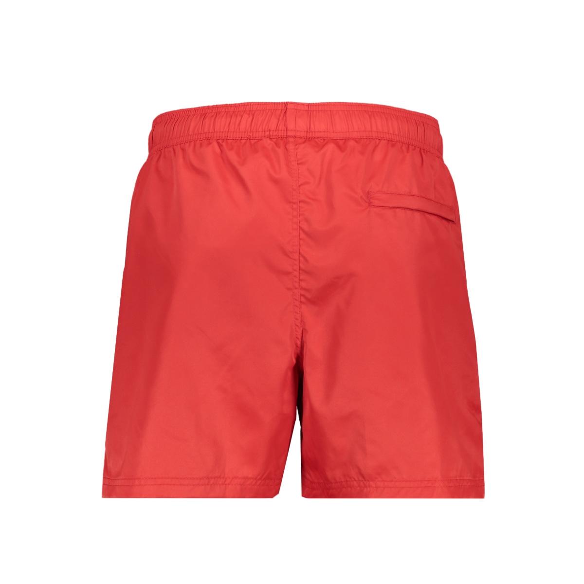 swimshort 81008 gabbiano korte broek red