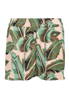 Pieces Korte broek PCNADINE HW SHORTS 17098131 Lotus/PALMS