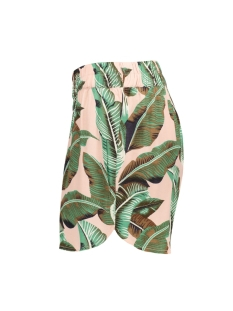 pcnadine hw shorts 17098131 pieces korte broek lotus/palms