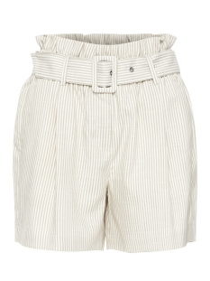 Vero Moda Korte broek VMGALLY HW SHORTS 10214320 Oatmeal/SNOW WHITE