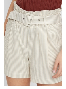 vmgally hw shorts 10214320 vero moda korte broek oatmeal/snow white