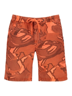 Superdry Korte broek SUNSCORCHED SHORT M71104KU FLURO CORAL CAMO