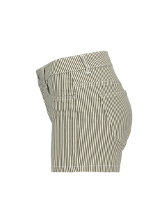 onllaney reg striped shorts pnt 15179192 only korte broek crocodile/white
