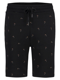 Kultivate Korte broek SHORT TOUCAN LOVE 1901024406 100 BLACK