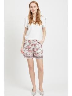 vitropaz shorts 14054713 vila korte broek cloud dancer/flowers