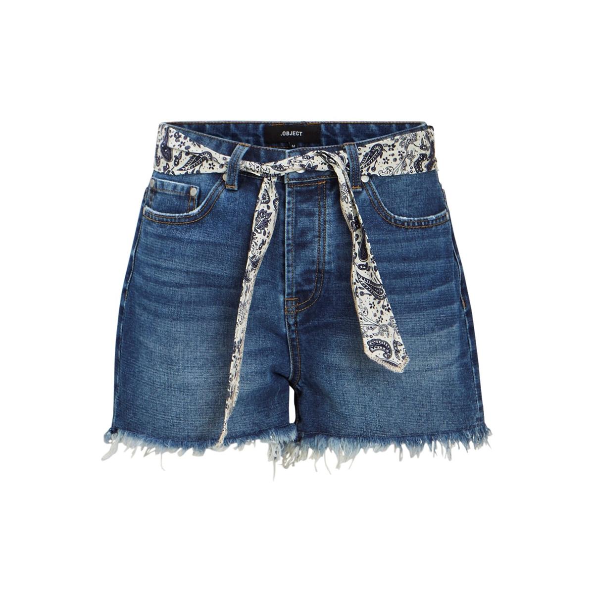 objfilisa mw denim shorts a sp 23030629 object korte broek medium blue denim