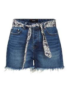 Object Korte broek OBJFILISA MW DENIM SHORTS A SP 23030629 Medium Blue Denim