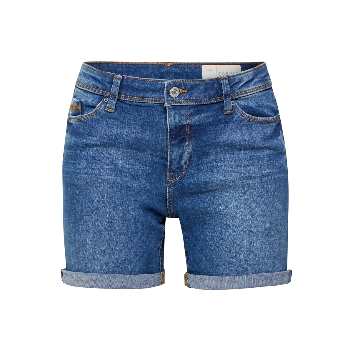 denim short met stretch 049ee1c001 esprit korte broek e902