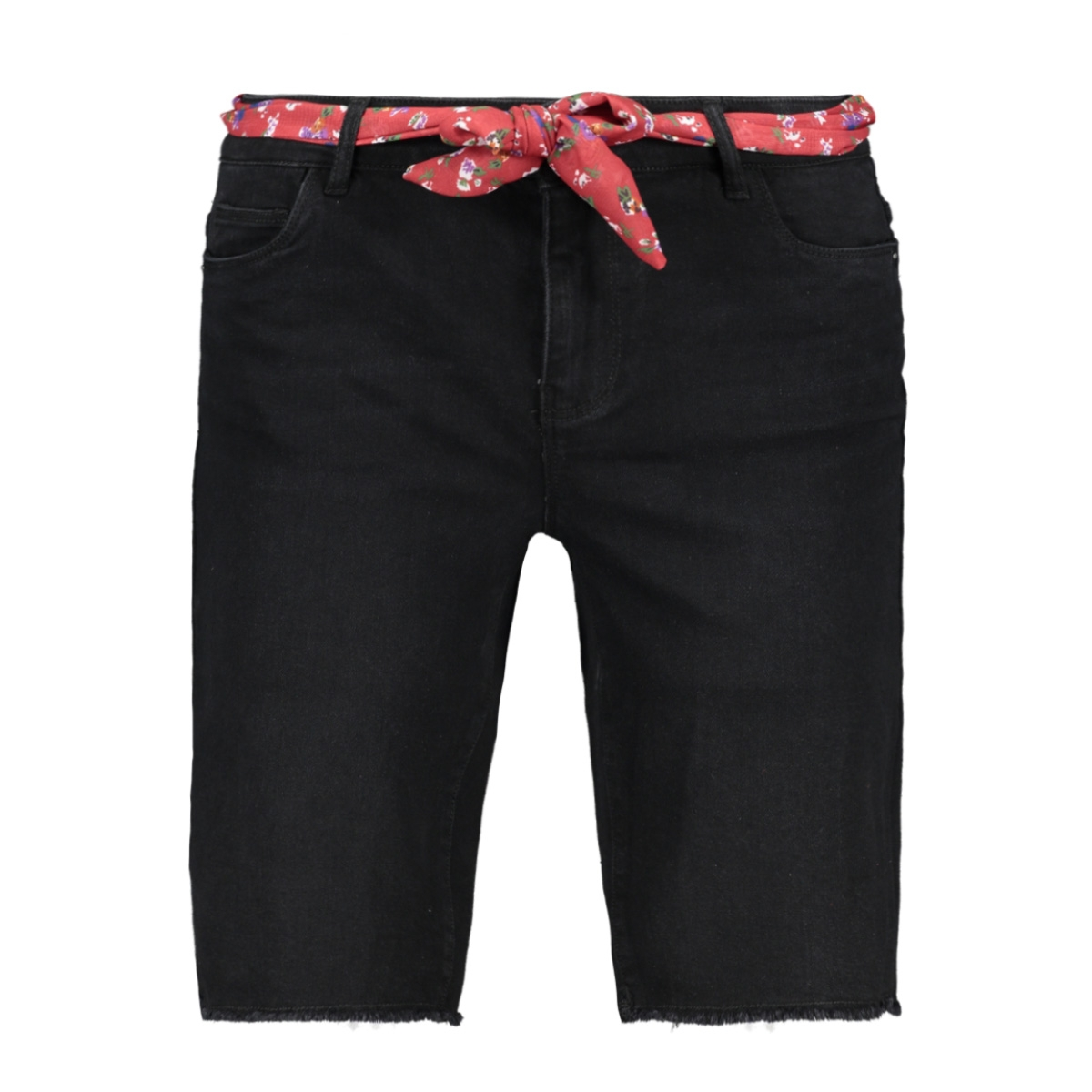 onlamaze belt reg denim shorts 15188059 only korte broek black