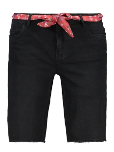 Only Korte broek ONLAMAZE BELT REG DENIM SHORTS 15188059 Black