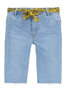 Only Korte broek ONLAMAZE BELT REG DENIM SHORTS 15188059 Light Blue Denim