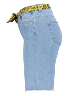 onlamaze belt reg denim shorts 15188059 only korte broek light blue denim
