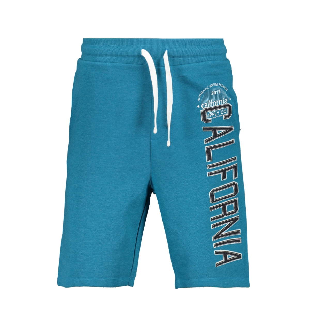 pktviy superior sweat shorts 12154039 produkt korte broek crystal teal/melange