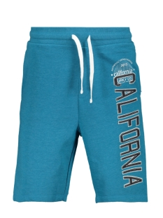 Produkt Korte broek PKTVIY SUPERIOR SWEAT SHORTS 12154039 Crystal Teal/Melange