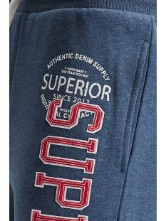 pktviy superior sweat shorts 12154039 produkt korte broek dark denim/melange