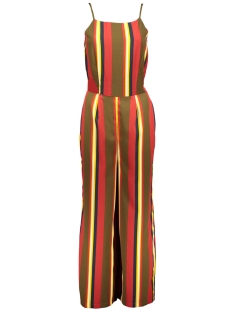 Noisy may Jumpsuit NMGAIA SL CROPPED JUMPSUIT 4 27008649 Kalamata/Mix Stripe