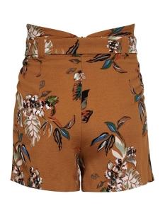onlpiper hw paperbag aop shorts tlr 15178334 only korte broek sugar almond/la flower