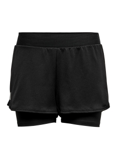 Only Play Sport short ONPJOELLE LOOSE TRAINING SHORTS 15175693 Black/W. BLACK