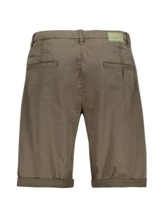 garment dyed short 908110386n no-excess korte broek 059 dk army