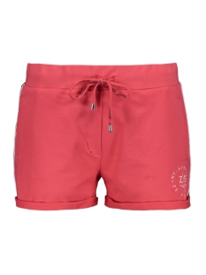 Zoso Korte broek SUN SWEAT SHORT 193 RED/BLACK