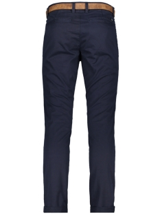 chino broek met riem 1008253xx12 tom tailor broek 10668