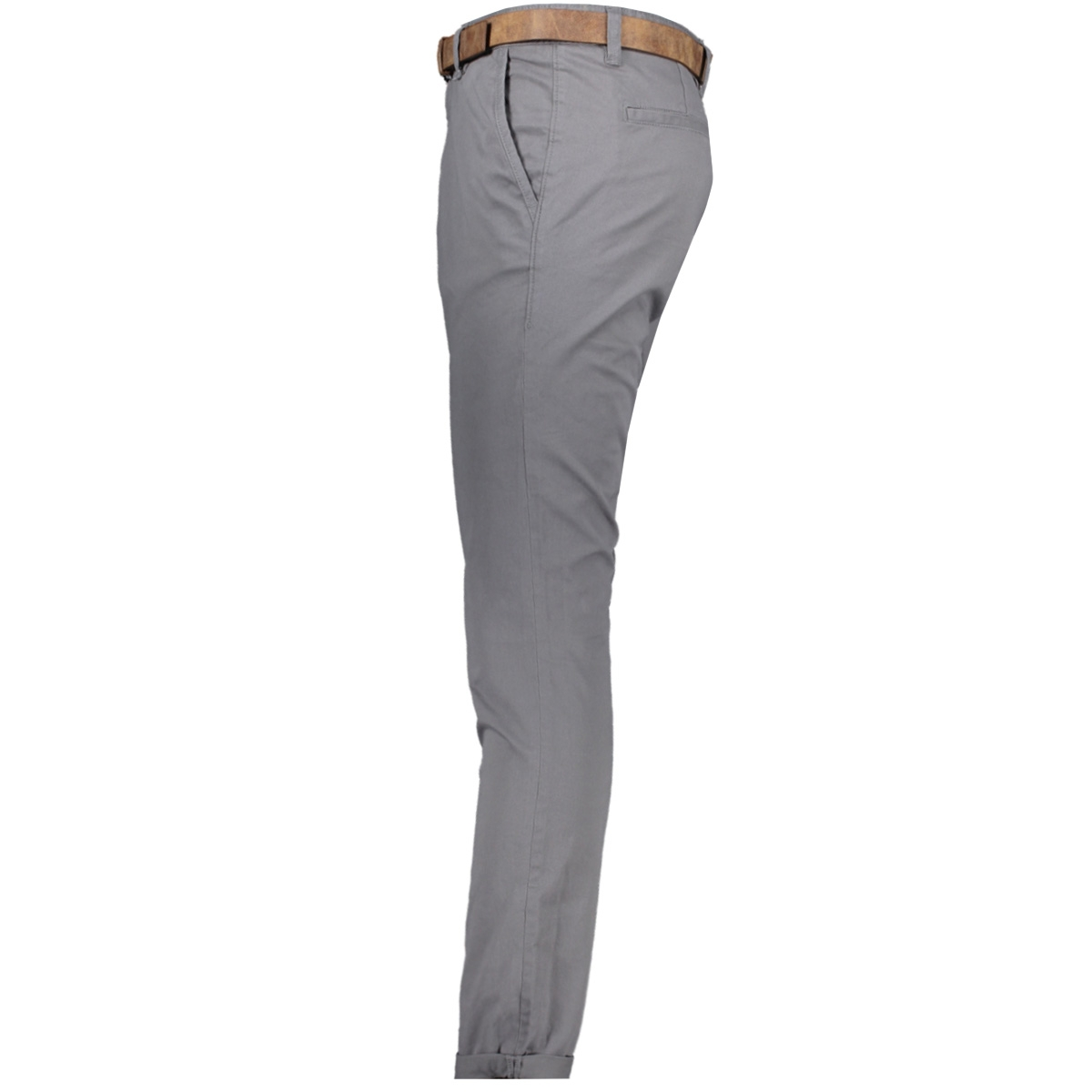 chino broek met riem 1008253xx12 tom tailor broek 10952