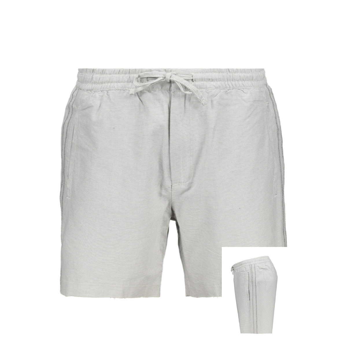 drawstring short m7110019a superdry korte broek grey feeder
