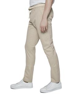 Tom Tailor Broek SLANKE CHINO MET RIEM EN FIJN PATROON 1018929XX12 23728