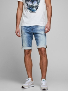 Jack & Jones Korte broek JJIREX JJLONG SHORTS GE 022 I.K 12166430 Blue Denim