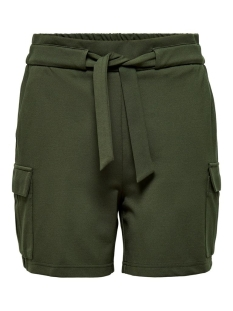 onlpoptrash cargo belt shorts pnt 15205336 only korte broek forest night