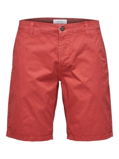 onsholm chino shorts  pk 2174 noos 22012174 only & sons korte broek cranberry