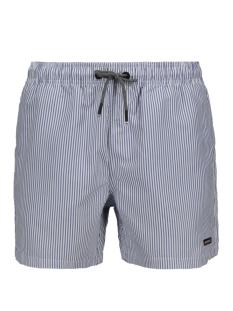 edit swim short m3010006a superdry korte broek blue stripe