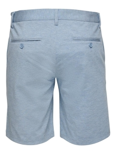 onsmark reg mel shorts gd 5832 noos 22015832 only & sons korte broek light blue
